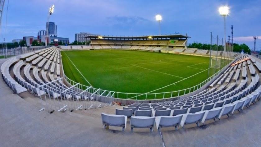 El Almería jugará la primera ronda de la Copa en el Estadio de Hospitalet de Llobregat.