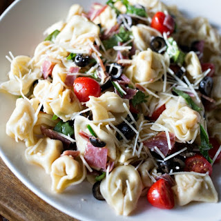 Tortellini Pasta Salad With Spinach Recipes