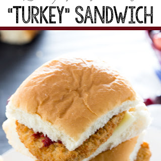 "Thanksgiving Leftovers ""Turkey"" Sandwich"