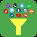 Social Media Apps In One icon