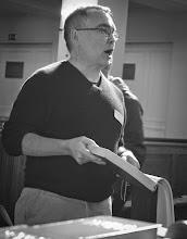 Photo: Sacred Harp Singing School (Workshop) with Michael Walker (London) in Hamburg, September 2013