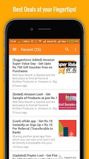 A2Y Notifier - Deals & Coupons- screenshot thumbnail