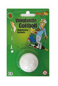 Vinglande golfboll