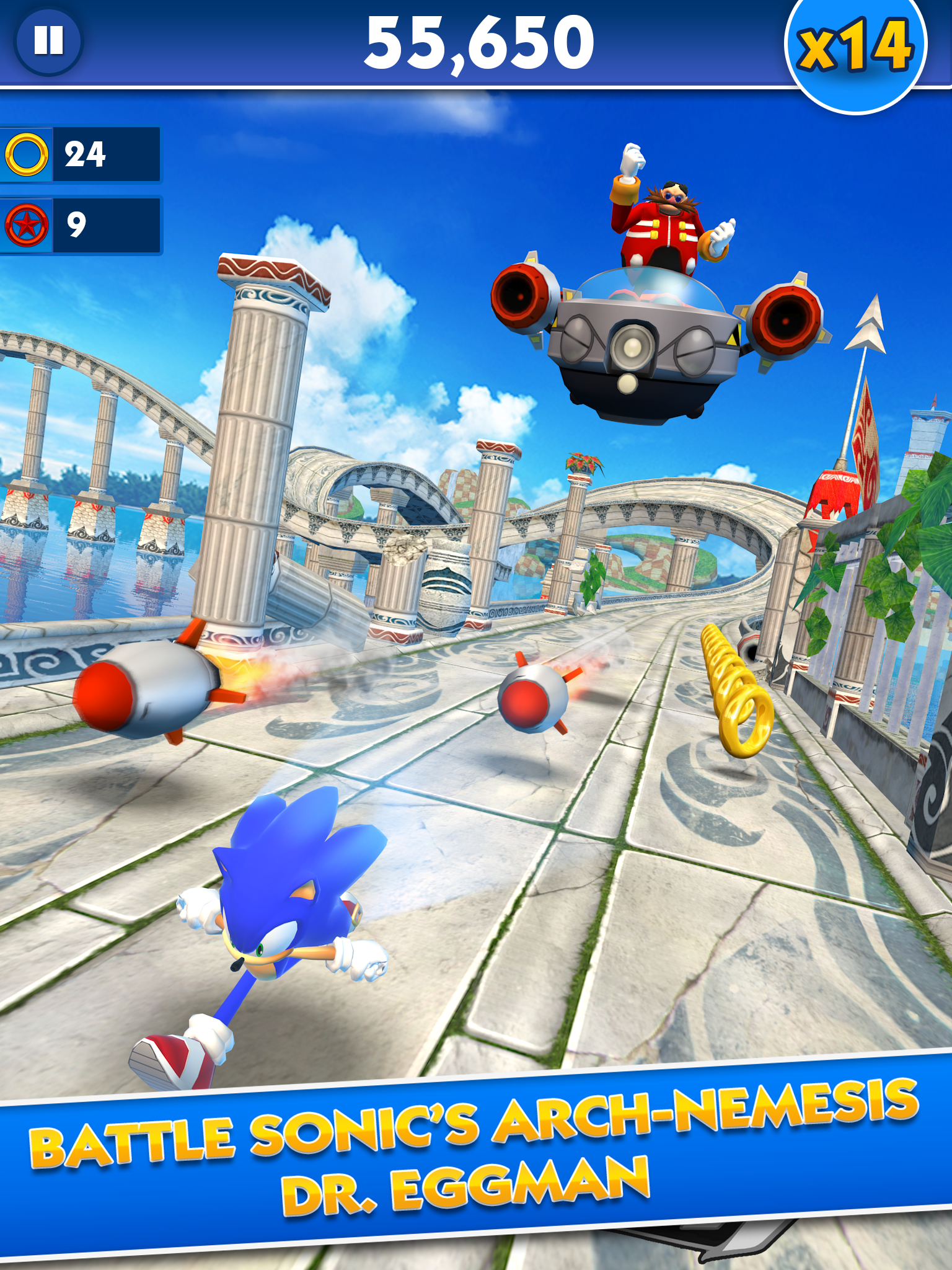 Sonic Dash screenshot #6