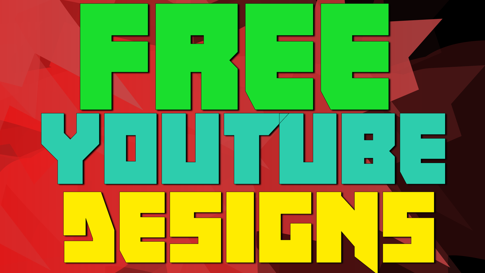 Free YouTube Designs