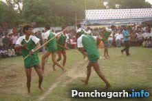 Photo: Traditional Lathi Khela