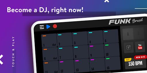 FUNK BRASIL: Become a DJ of Drum Pads screenshot 1