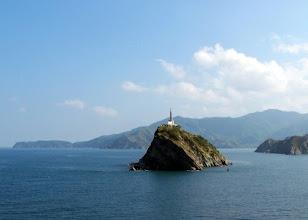 Photo: Faro de Santa Marta - arriving