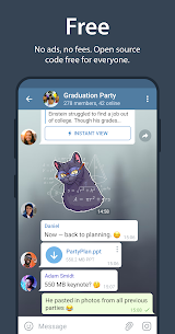 Telegram Mod Apk [Lite + Optimized] 7.0.0 5