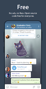 Telegram Capture d'écran
