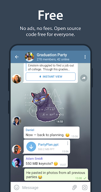 Screenshot - Telegram