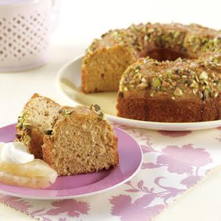 Pistachio Honey Cake.