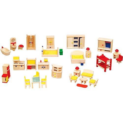 娃娃屋家具理念