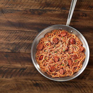 with Sausage and Spicy Marinara.