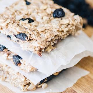 Blueberry Coconut Chewy Oat Bars (Gluten Free, Vegan) Recipe