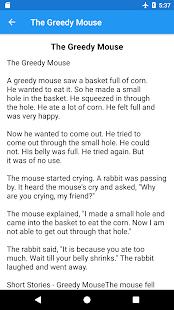 Best English Story - náhled