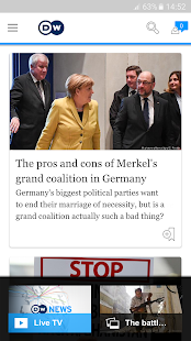 DW - Breaking World News- screenshot thumbnail