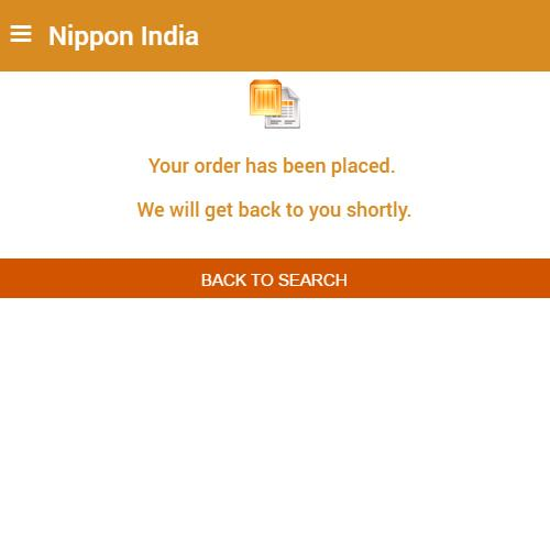 Nippon India 1.0- screenshot