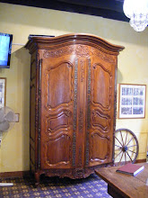 Photo: In the lobby is this impressive 19th century armoire.