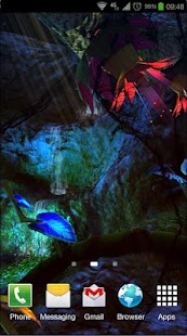 Alien Jungle 3D Live Wallpaper Screenshot