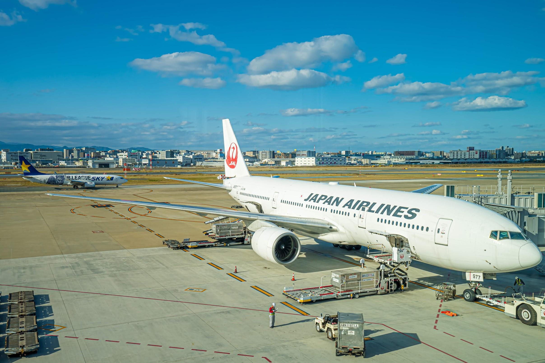 JAL 福岡空港