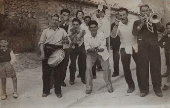 Photo: Músicos en la Fiesta de Santa Catalina. Proveedor: Susana Ojeda. Año: 1964.