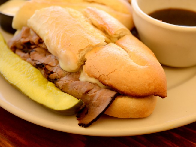 Slow Cooker Red Wine French Dip Sandwiches Recipe