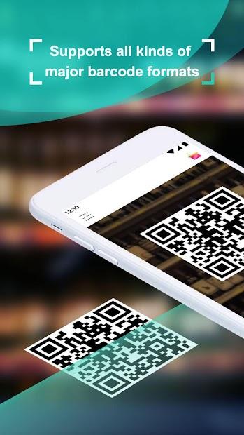 Coreader- QR Code & Barcode Scanner Android App Screenshot