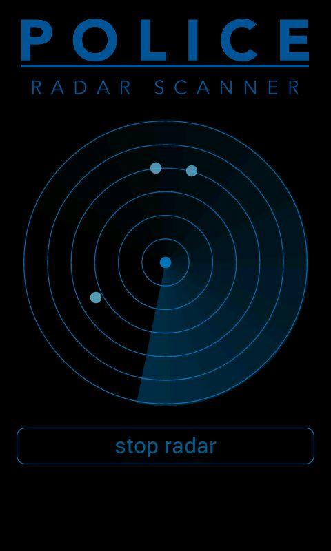 Police Radar Scanner Simulated Android Apps On Google Play
