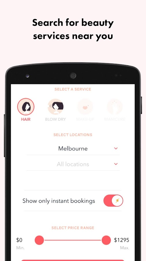 Beauro - Beauty Booking App- screenshot