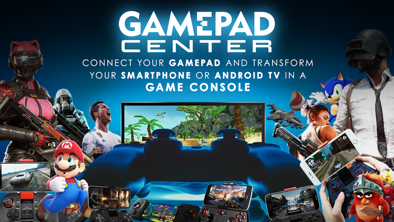 Gamepad Center - The Android console – (Android تطبيقات) — AppAgg