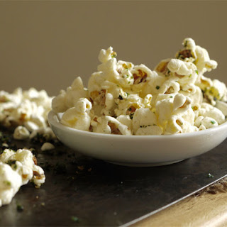 Sweet And Salty Nori Seaweed Popcorn.