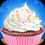 Cupcake Maker - Sweet Dessert Cooking Chef Kitchen Icon