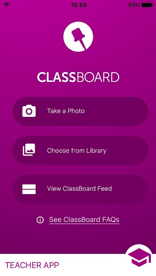 ClassBoard Teacher- screenshot
