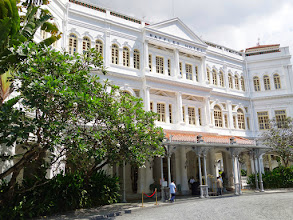 Photo: Raffles Hotel names after Sir Stamford Raffle - member of the British East India Company