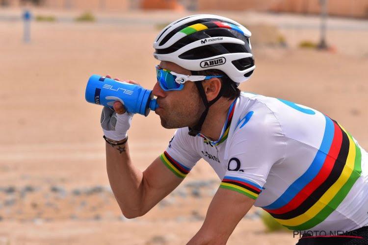Premier coup d'arrêt pour le champion du monde Alejandro Valverde