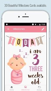 Baby Milestone Cards - náhled