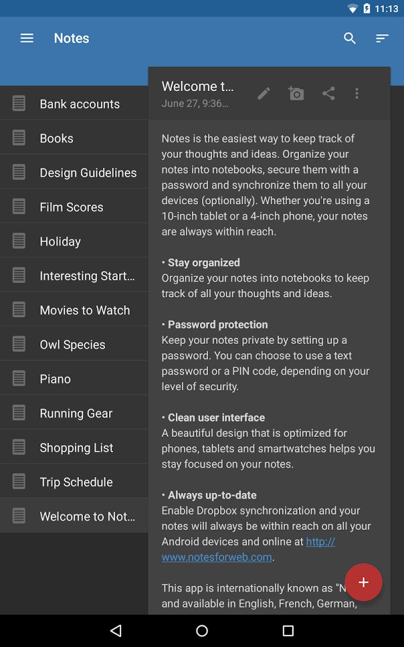 Notes Screenshot 13