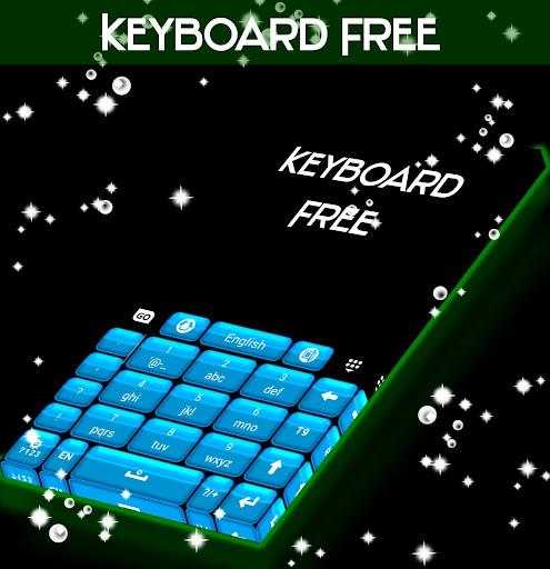 無料个人化Appのキーボードフリーブルー|HotApp4Game