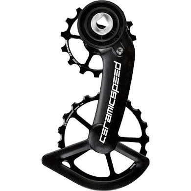 CeramicSpeed Oversized Pulley Wheel System SRAM Red/Force AXS - Coated, Alloy Pulley, Carbon Cage