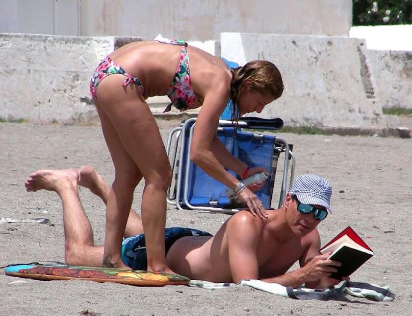 Las vacaciones de personalidades en Almería