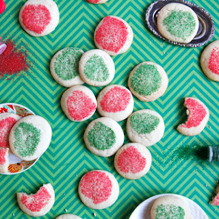 Soft, Melty Sugar Cookies.