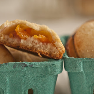 Teeny Ginger Peach Hand Pies