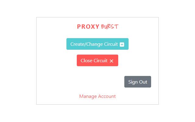 ProxyBurst Extension