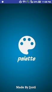 Palette - náhled