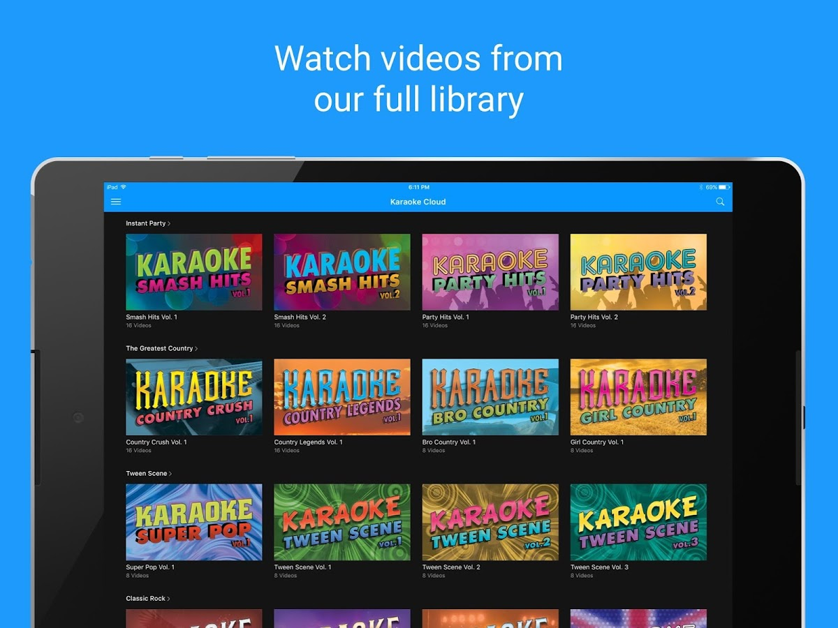 Karaoke Cloud- screenshot