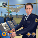 Virtual City Police Airport Manager Family Games icon