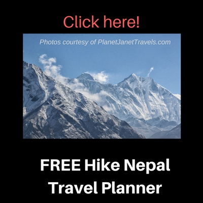 Click here for free Hike Nepal Travel Planner