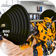 Transformer Robots Gym Fitness Trainer:Robots Gym