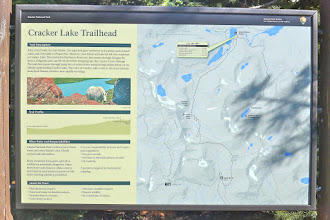 Photo: From this trailhead to the far end of the lake was about 13 miles round-trip.